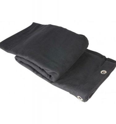 Black Molton (9x6m)