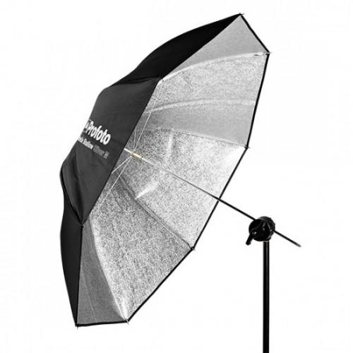 Umbrella Shallow Silver L (130cm)