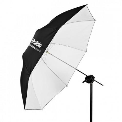 Umbrella Shallow White L (130cm)