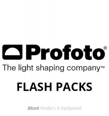 Profoto flash packs